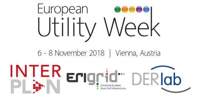 Joint booth with ERIGrid and DERlab at European Utility Week 2018