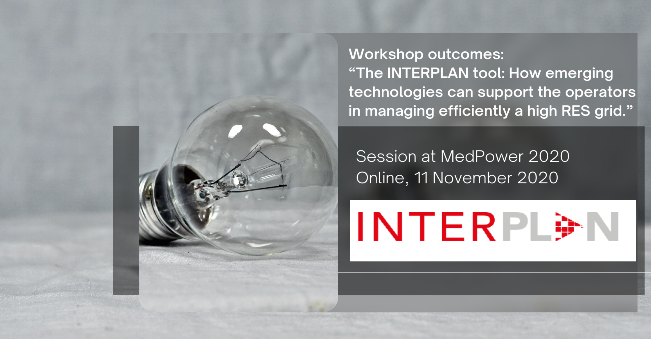 INTERPLAN session at MedPower 2020 outcomes