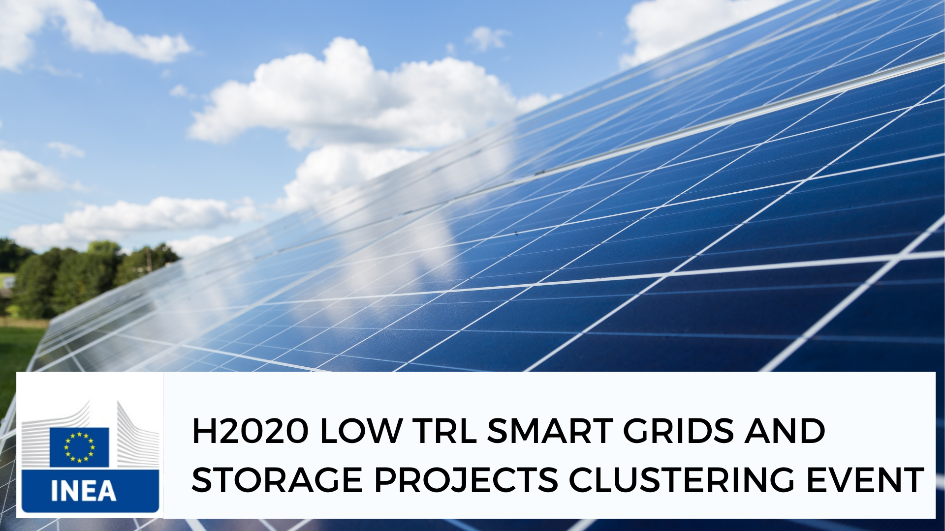 INTERPLAN at INEA Low TRL Smart Grids and Storage Projects clustering virtual event