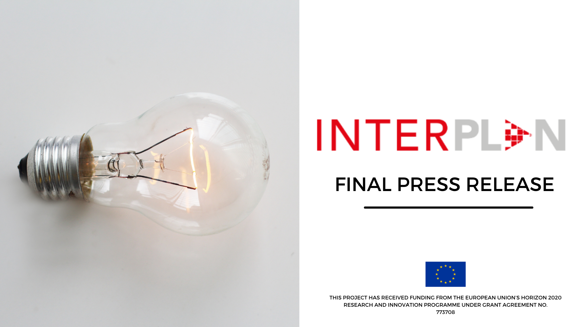 Press Release: INTERPLAN project presents final project results