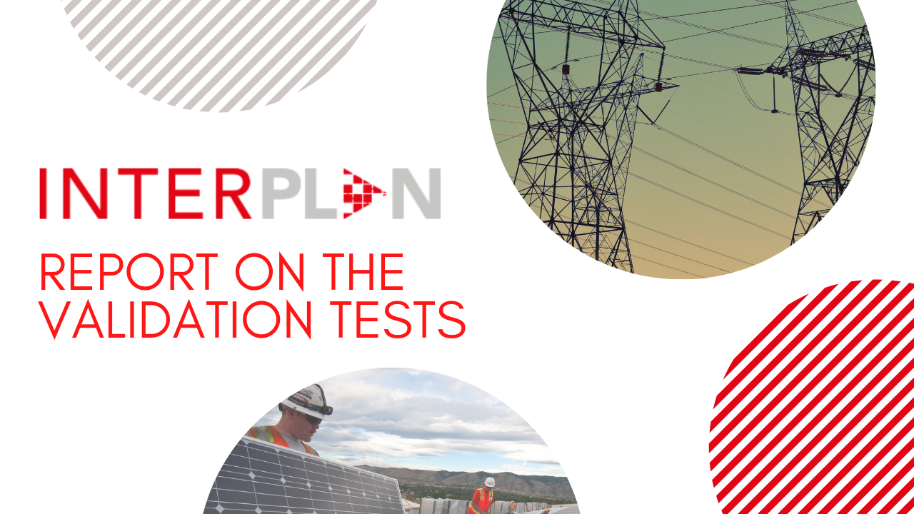 Validation results of controllers, control functions and models developed within INTERPLAN